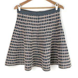Olivia & Grace | NWT Windowpane Fuzzy Skater Skirt